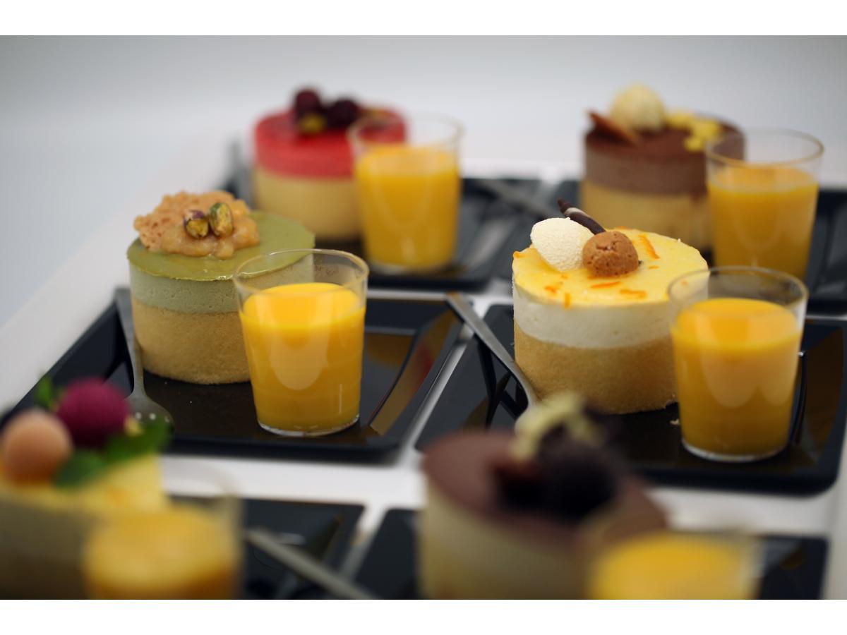 Création de glaces et desserts glacés pour les restaurateurs, traiteurs, boulangers, etc...